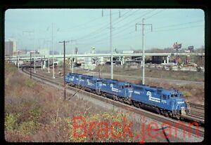 Conrail original rail slide # 3193 Harrisburg PA 1985