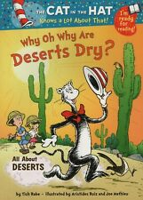Why Oh Why Are Deserts Dry by Tish Rabe New, Cheap Fast Free Post