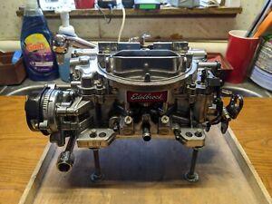 Edelbrock 1806 Thunder Series AVS Carburetor 4v 4bbl 650 CFM Electric Choke