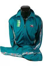 DIADORA tuta giacca+pantalone Tg 58 smeraldo 102113 vintage