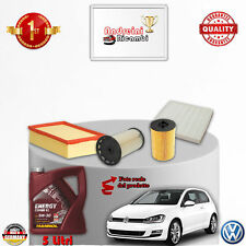 KIT TAGLIANDO FILTRI + OLIO VW GOLF VII 2.0 TDI 110KW 150CV DAL 2014 ->