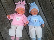 kipu Puppenkleidung + Schuhe für my little Baby Puppe Puppen Gr. 32 cm Bär NEU