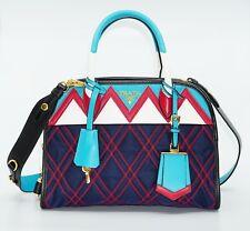 a54f8b73ea Prada Tessuto Impunturato Greca Quilted Nylon/Leather Shoulder Bag, MSRP  $1,950
