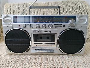 Sharp GF-5757 H Stereo Radio Cassetten Recorder Weltempfänger Ghettoblaster