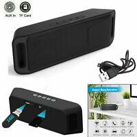 40W LOUD Speaker Portable Wireless Bluetooth Waterproof Stereo Bass USB/AUX/FM