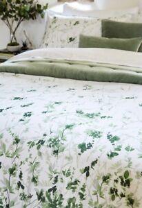 Christy Leaf Fronds King Bed Duvet Cover Set - D