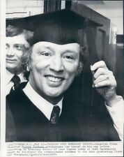 1974 Canada PM Pierre Trudeau Gets Honorary Degree Duke University Press Photo