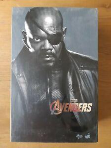 Hot Toys Marvel Avengers Nick Fury 1/6 Scale Figure