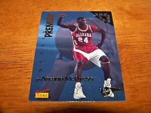 ALABAMA CRIMSON TIDE ANTONIO MCDYESS 1995-96 SIGNATURE ROOKIES TOP TEN PICKS #70