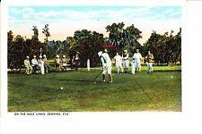 Sebring, Florida On The Golf Links 1920s