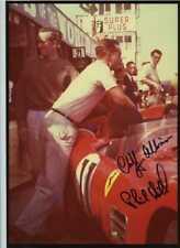 Phil Hill & Cliff Allison Ferrari 250 TR Goodwood TT 1959 Signed Photograph