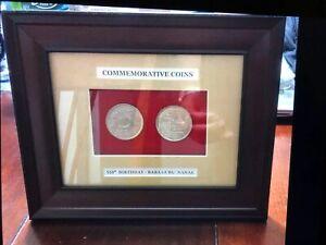 2019 550th Anniversary Guru Nanak Coin Frame Gift Set