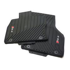 Audi RS3 Allwetterfußmatten vorn 8V6061221 041 Gummimatten Gummi Fußmatten Matte