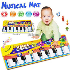Boy Girls Kids Baby Musical Piano Play Mat Development Educational Soft Toys US