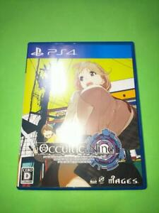 PS4 OCCULTIC; NINE 4562412130110 Japanese ver from Japan
