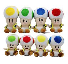 "Super Mario Toad 7"" Plush toys baby toys Plush Doll kid's gift"