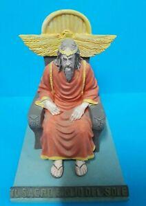 """IL MONDO DI TEX  """"SACRO FIGLIO DEL SOLE """"Statua figure 18 cm IN BLISTER Hachette"""