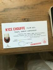 Nice Chouffe cherry chouffe reclame beer sign new licht karton klein model