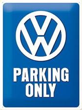 VW Bus - VW Parking Only - Blechschild - 30x40cm - Neu & OVP
