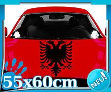 Albanischer Adler Heck Autoaufkleber | Sticker Albanien Kosovo Wappen 2O009_5
