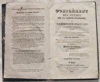 1837 MARTIN TRATTATO RETORICA STILE SCUOLE ELEMENTARI