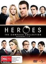 Heroes Complete Series Seasons 1, 2, 3 & 4 DVD Box Set R4/Aus 1 - 4 New & Sealed