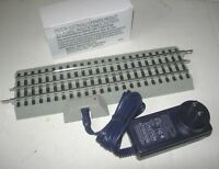 "LIONEL O GAUGE FASTRACK 10"" STRAIGHT POWER SUPPLY PACK RC LIONCHIEF 54 WATTS"
