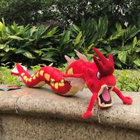 """Nintendo Pokemon Center Go Plush Toy Shiny Red Gyarados Stuffed Animal Doll 23"""""""