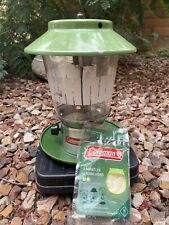 New listing Coleman Double Mantle Propane Lantern 5114B Outdoor Camping With Hard Case