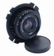 🎥PL mount Industar 50-2 3.5/50 KMZ Pancake Lens fo ARRI BMPCC FFG URSA RED EPIC