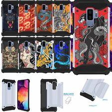 Case for [Samsung Galaxy S9] Duo Armor Two Piece Slim Case Design
