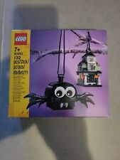 Lego Spider & Haunted House Pack 40493 Halloween Decoration in hand box ship new