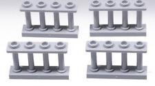 Baukästen & Konstruktion 169 Lego 3185 Zaun 1x4x2 Weiß 4 Stück
