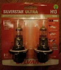 Sylvania SilverStar Ultra H13 Dual Pack Halogen Bulbs  Brand New And Sealed!!!