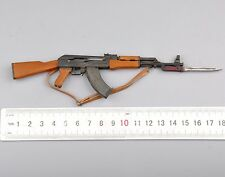 "1/6 Scale Weapon Model  AK47 Weapon Set Assault Rifle Toy Gun For 12"" Figure"
