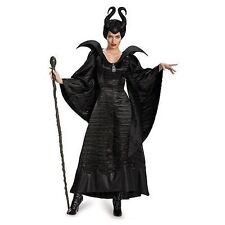 Buyseasons Disney Womens Black Maleficent Deluxe Christening Halloween Costume -