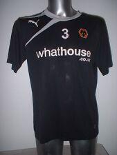 Wolverhampton Wanderers Puma Football Soccer Shirt Player Worn Training Adult L