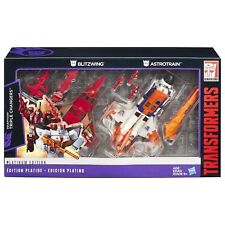 Transformers Blitzwing Astrotrain - Platinum Edition Triple Changers Decepticons