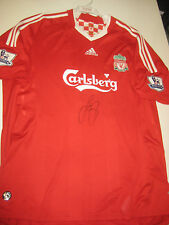 95f63ed2d LIVERPOOL-JAMIE CARRAGHER HAND SIGNED 2008-10 HOME JERSEY+ PHOTO PROOF +  C.O.A