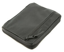 Black Authentic Leather Bible Cover Case for 5.25