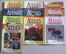 Lot Of 10 The Artist's Magazine Back Issue 1994 March-December Set