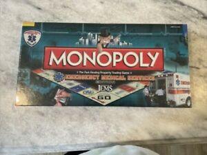 Emergency Medical Services Edition Monopoly Game  JEMS New! Rare! Sealed! NIB!