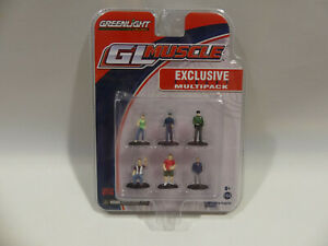 Greenlight GL Muscle Exclusive Shoptool Multipack Business Man 1:64 OVP