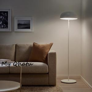 Ikea NYMANE Floor lamp w/ 2 LED bulbs, white - NEW 704.159.06