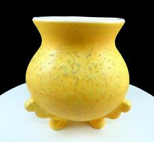 Boleslawiec butter dish lady yellow dress u3