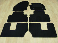 """Ford S-Max (2006-10) Fully Tailored Car Mats Black. """"7 Seat Model"""""""