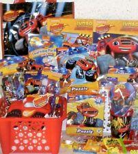 NEW Blaze Monster Machine EASTER TOY GIFT BASKET BOOKS TOYS PLAY SET BIRTHDAY