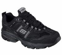 Skechers Men's Vigor 2.0 Trait Training Memory Foam Leather Sport Shoes 51241