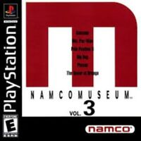 Namco Museum Volume 3 - PS1 PS2 Complete Playstation Game
