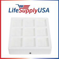 LifeSupplyUSA Filter fits IQAIR Pre Max Filter F8 IQ Air PreMax 102 10 10 00